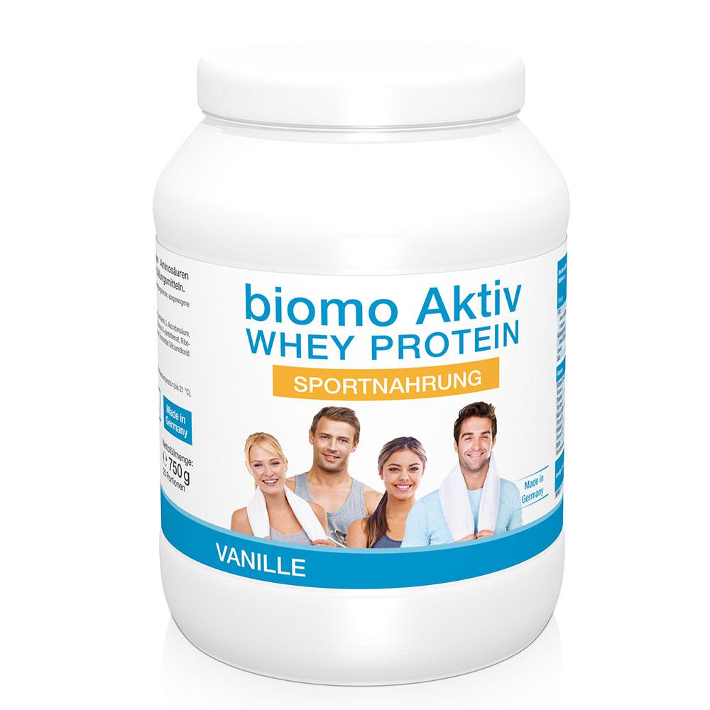 biomo® Aktiv Whey Protein Sportnahrung