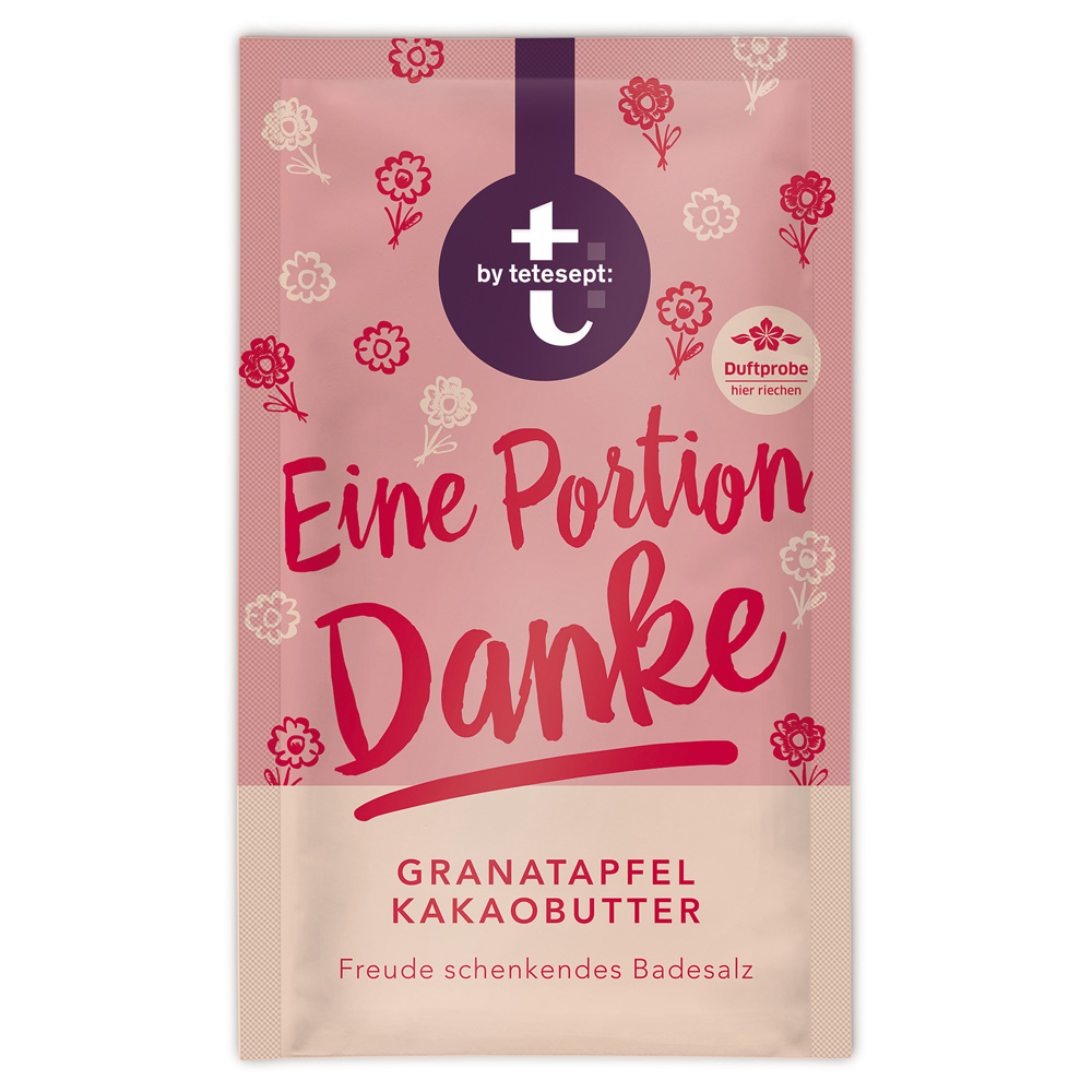 t by tetesept® Eine Portion Danke