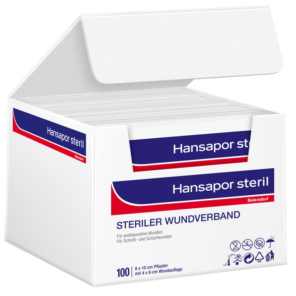 Hansapor steril Wundverband 8 x 10 cm