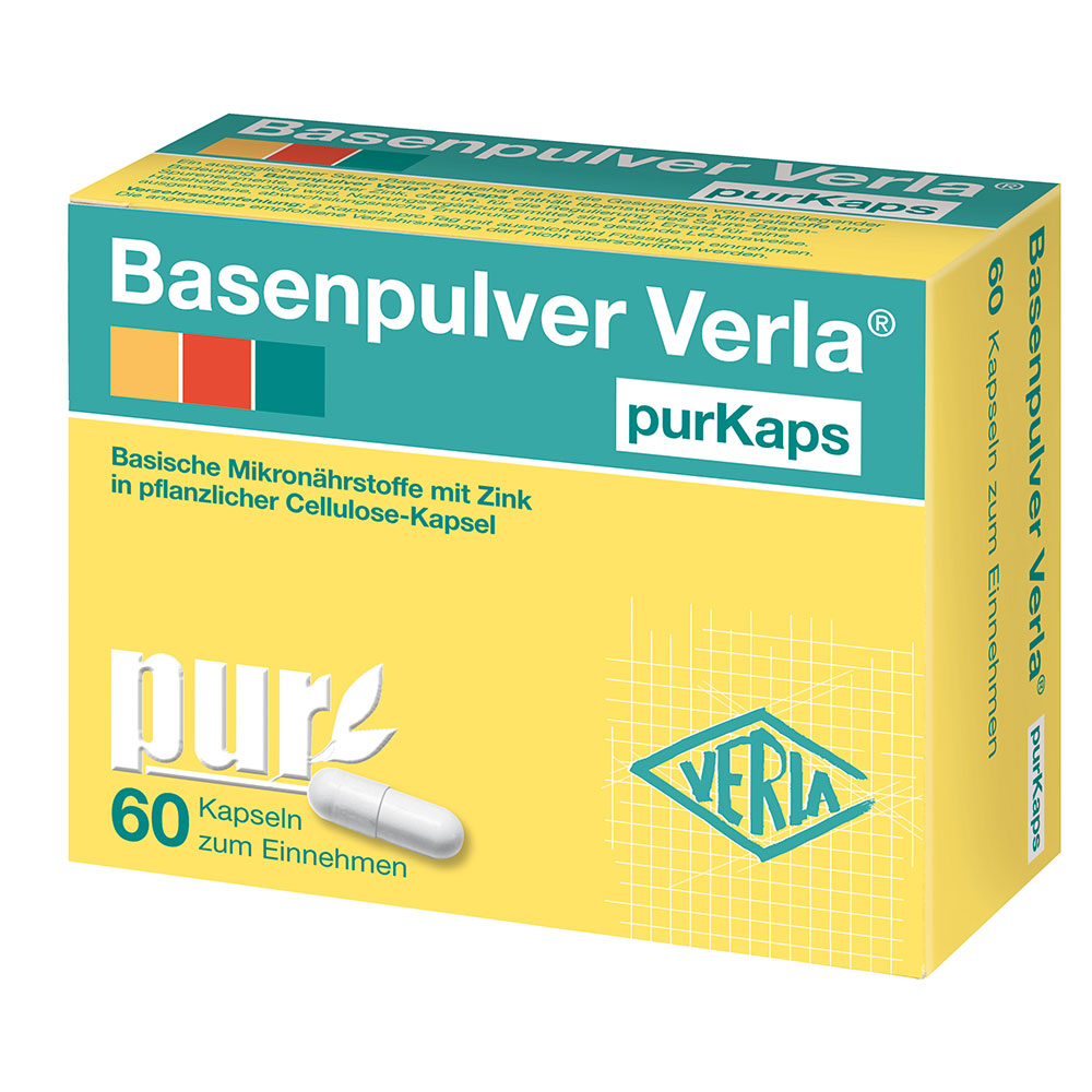 Basenpulver Verla® purKaps