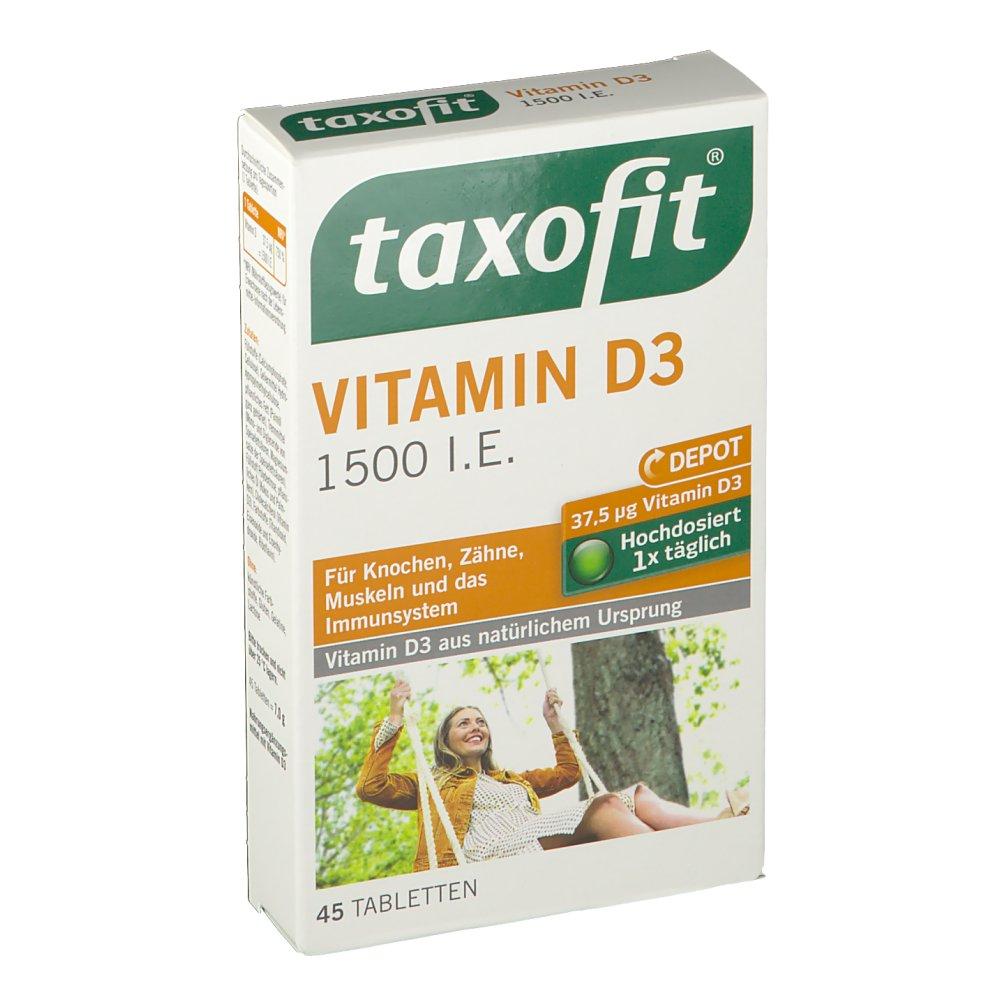 taxofit® Vitamin D3 1500 i.E.