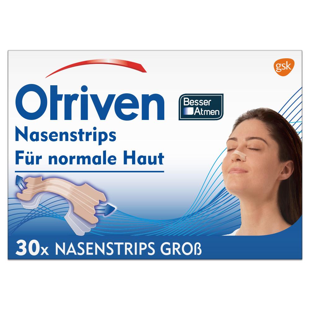 Otriven® Besser Atmen Nasenstrips groß beige