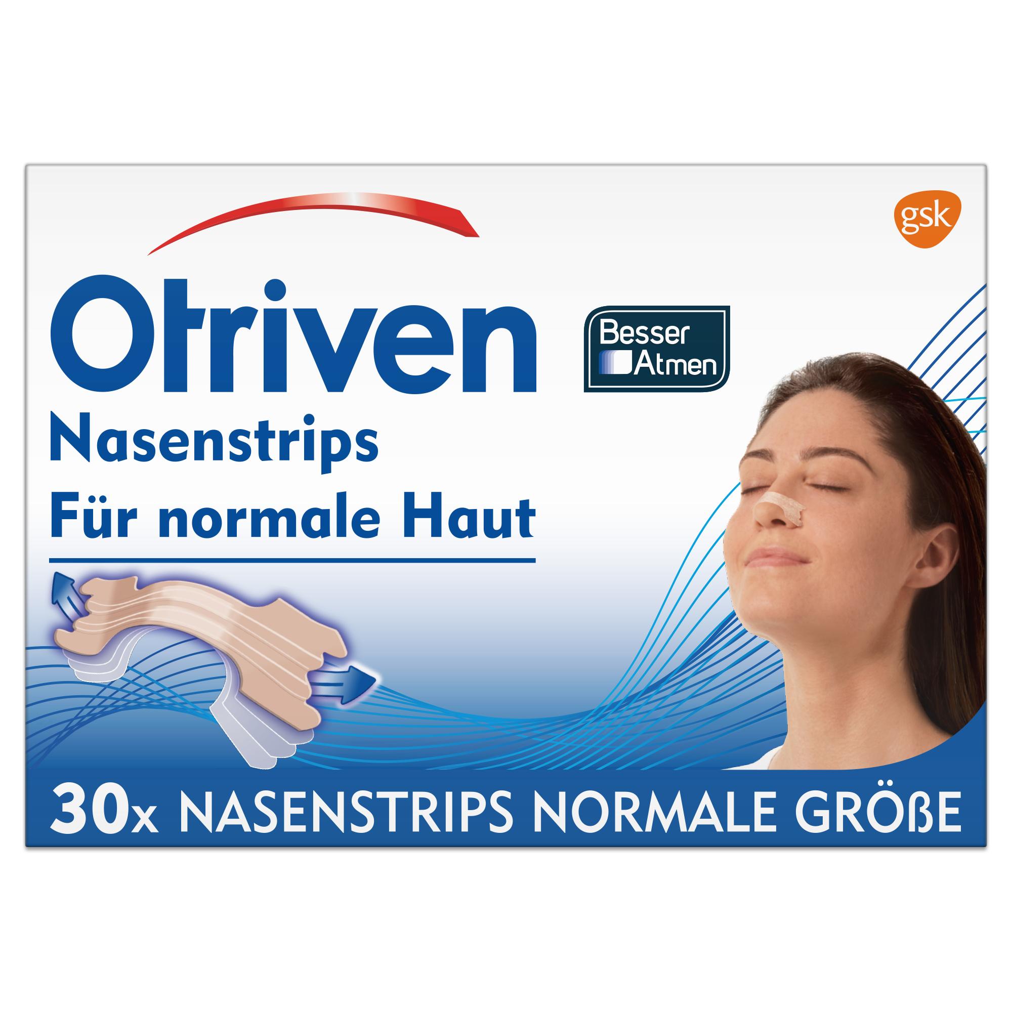 Otriven® Besser Atmen Nasenstrips normal beige