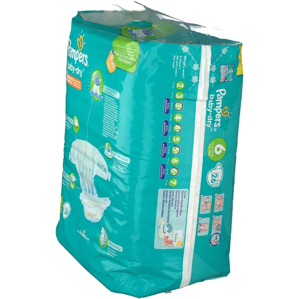 pampers 6 baby dry
