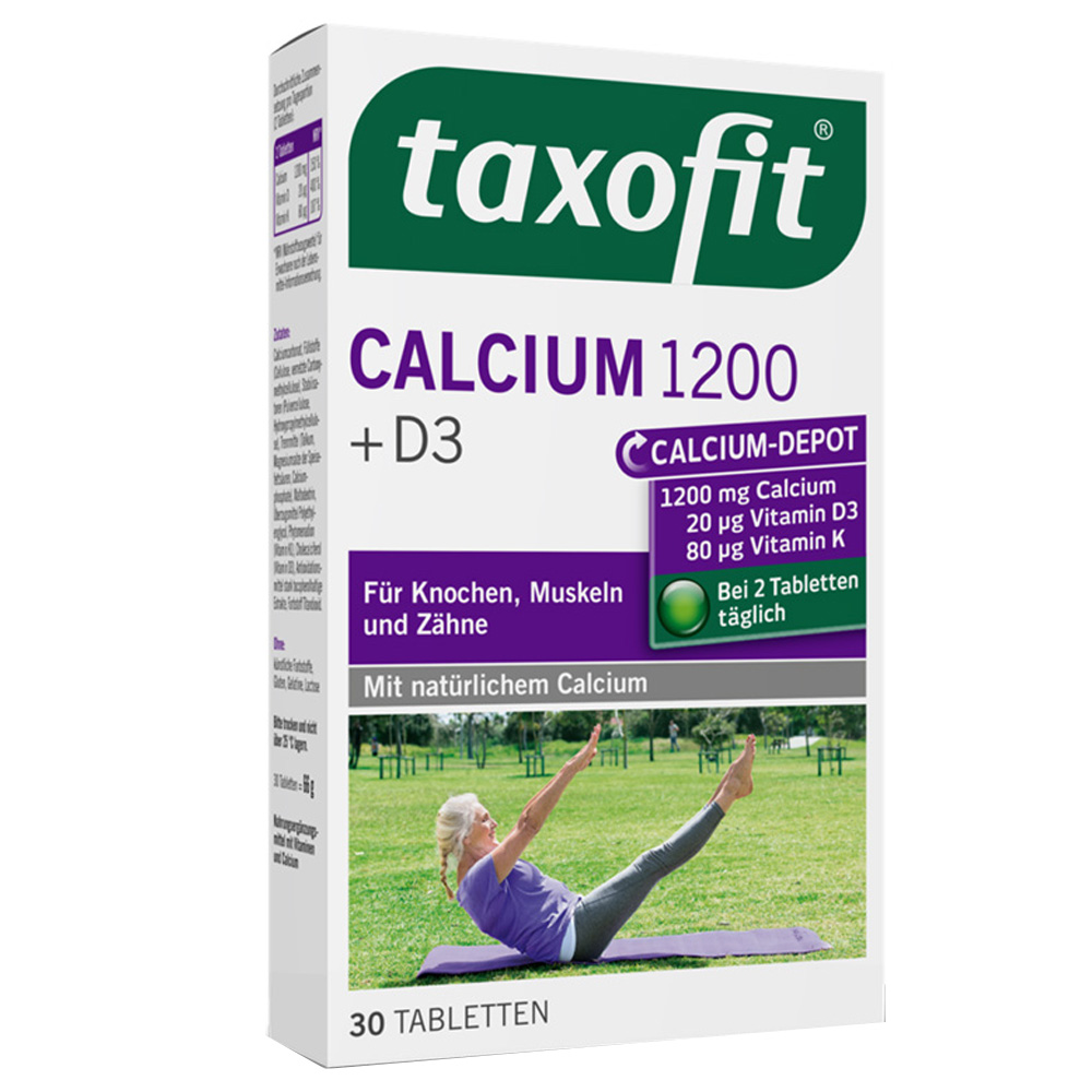 taxofit® Calcium 1200 + D3