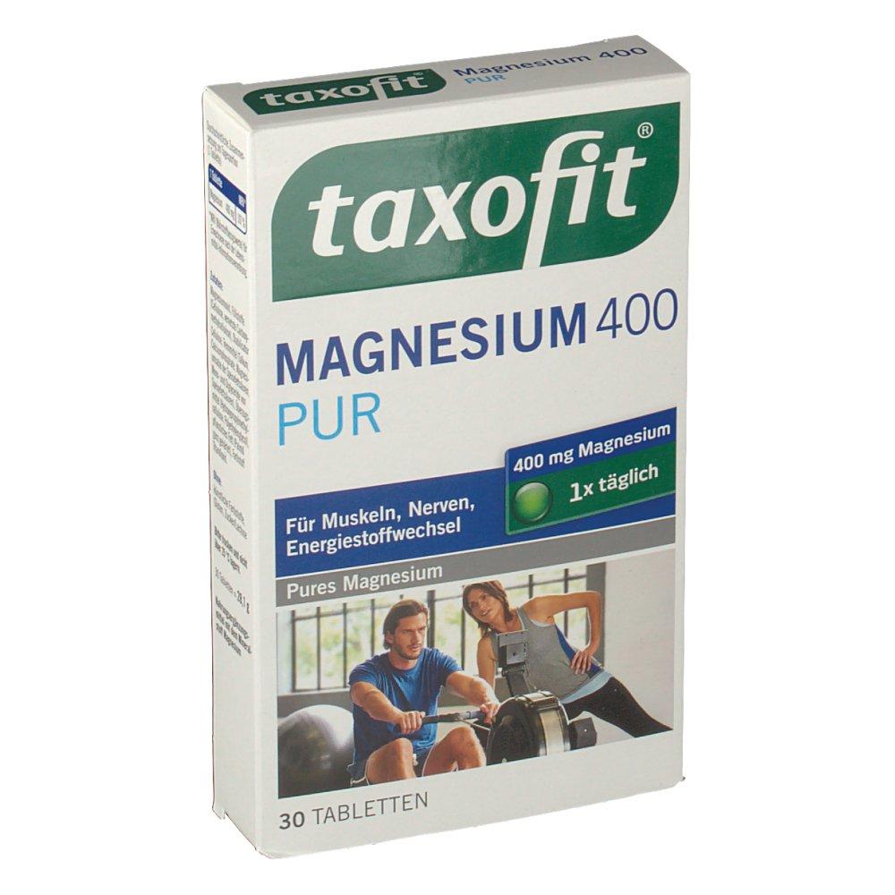 taxofit® Magnesium 400 PUR