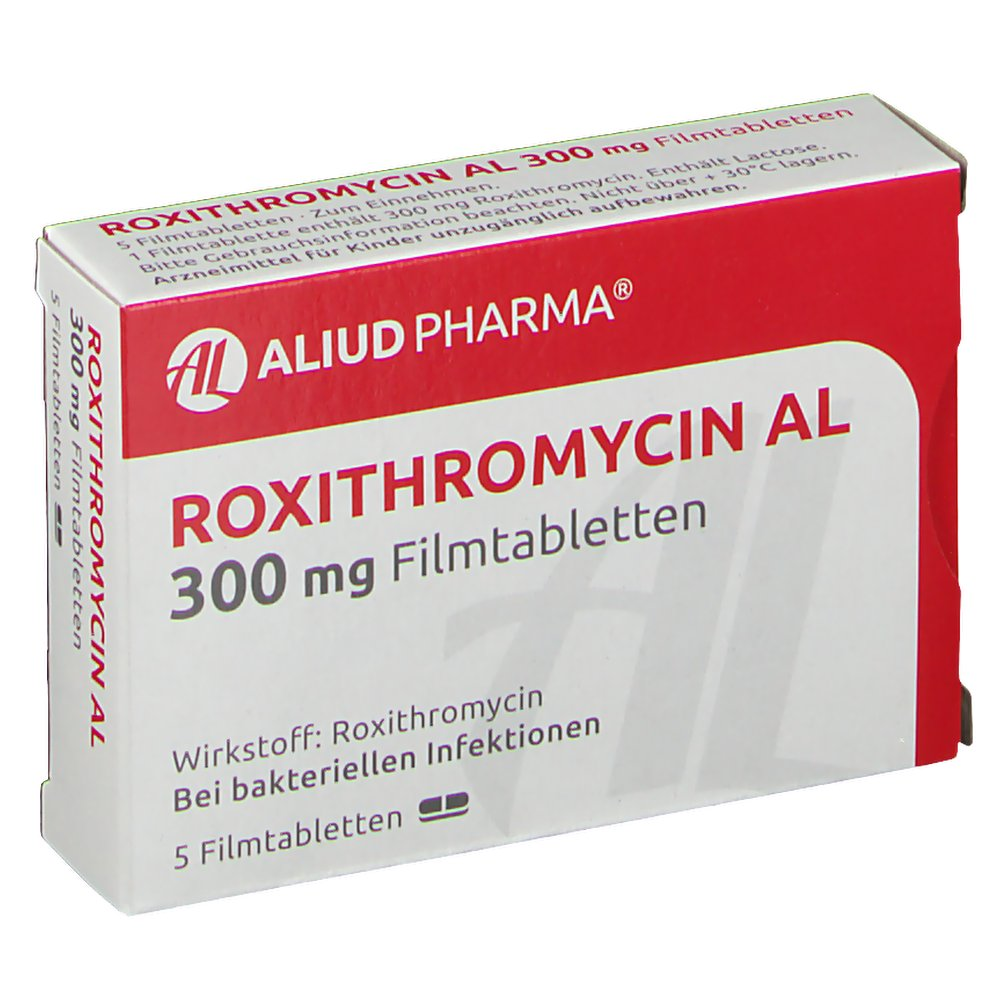 Roxithromycin 300 Mg Wiki