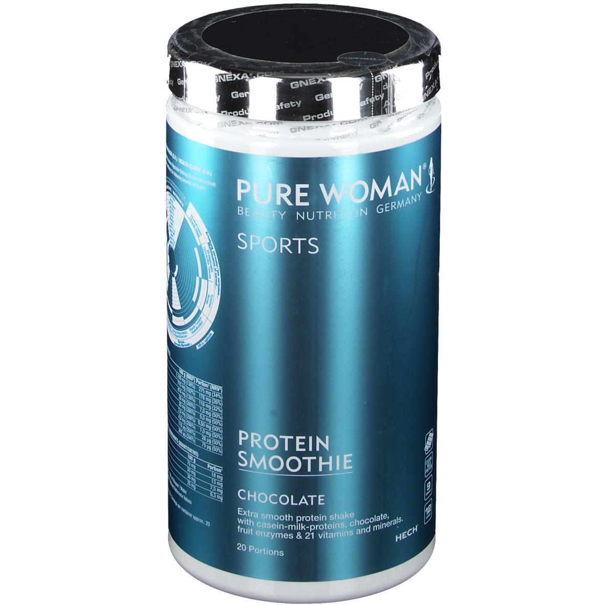 HECH® Pure Woman® Sports Protein Smoothie Schokolade 500 g Pulver 12668430