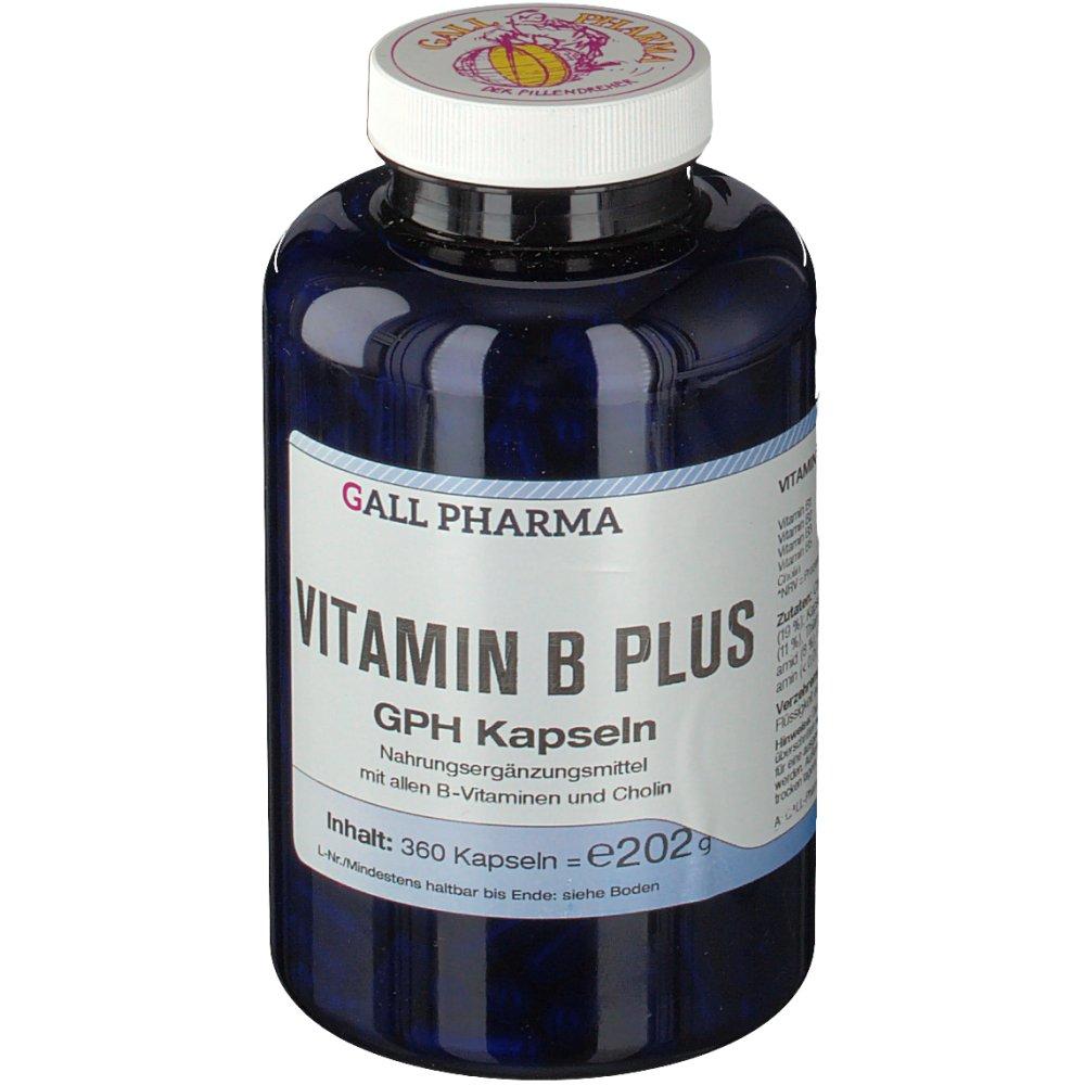 Vitamin B Plus GPH Kapseln