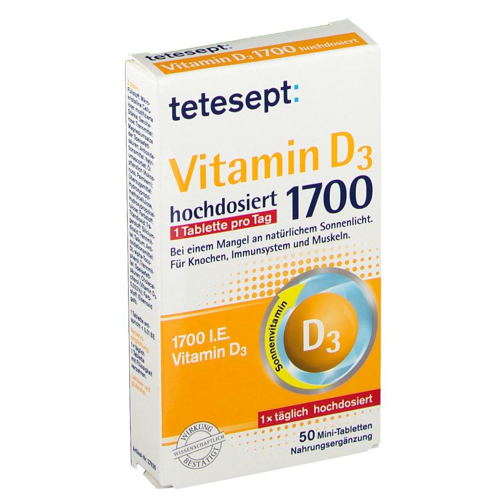tetesept Vitamin D3 1.700 hochdosiert