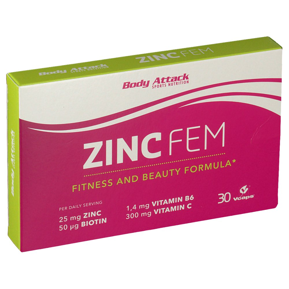 Body Attack Zinc FEM