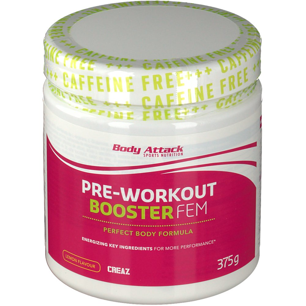 Body Attack Pre-Workout Booster FEM
