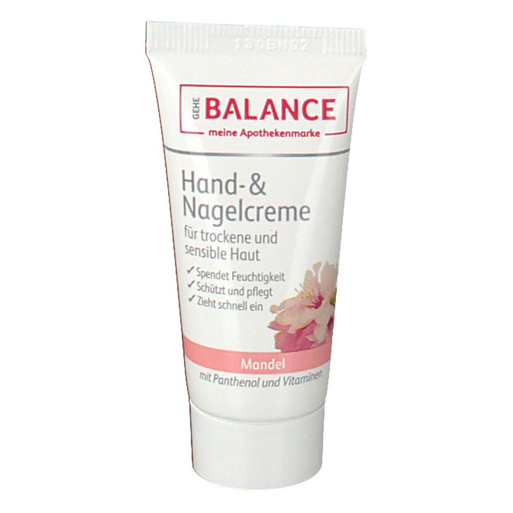 Gehe Balance Hand- & Nagelcreme