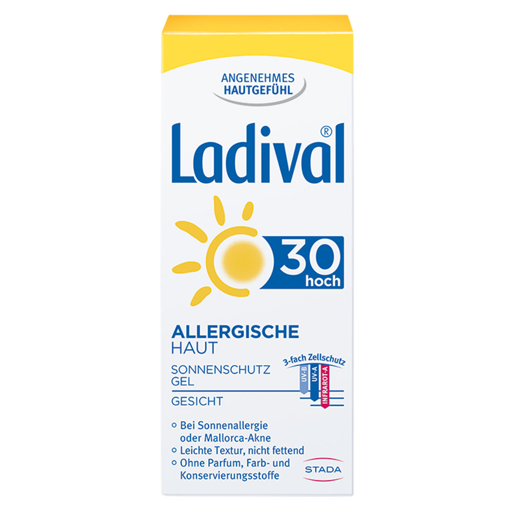 ladival® allergische Haut Gel Für Gesicht und Hände LSF 30