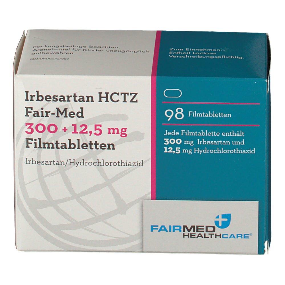 Irbesartan Hydrochlorothiazide 300 25