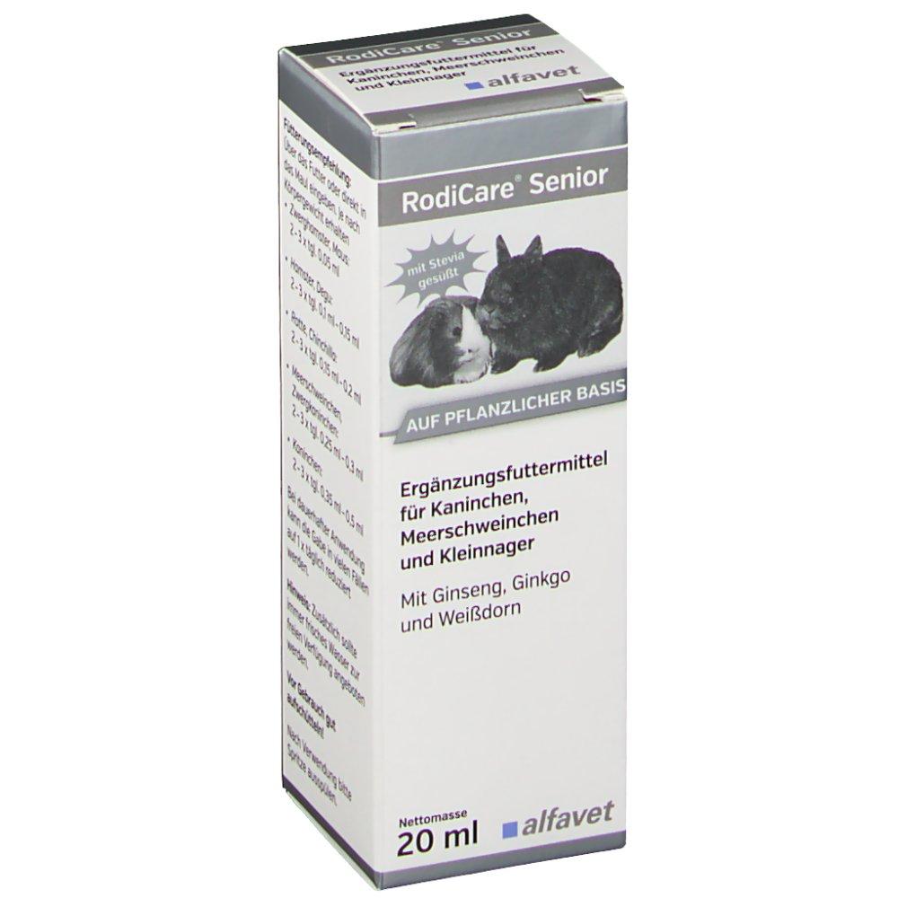 RodiCare® Senior für Kaninchen, Meerschweinchen...