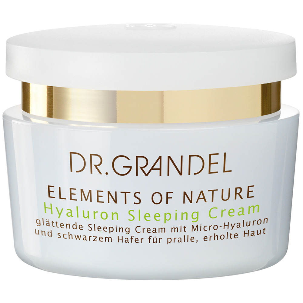 dr grandel elements pf nature hyaluron sleeping cream. Black Bedroom Furniture Sets. Home Design Ideas