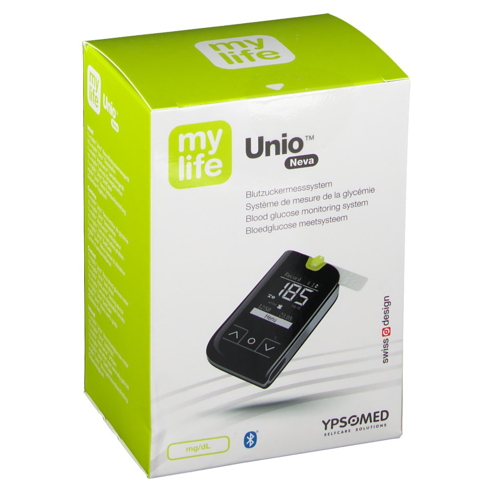 mylife Unio™ Neva Blutzuckermesssystem mg/dL