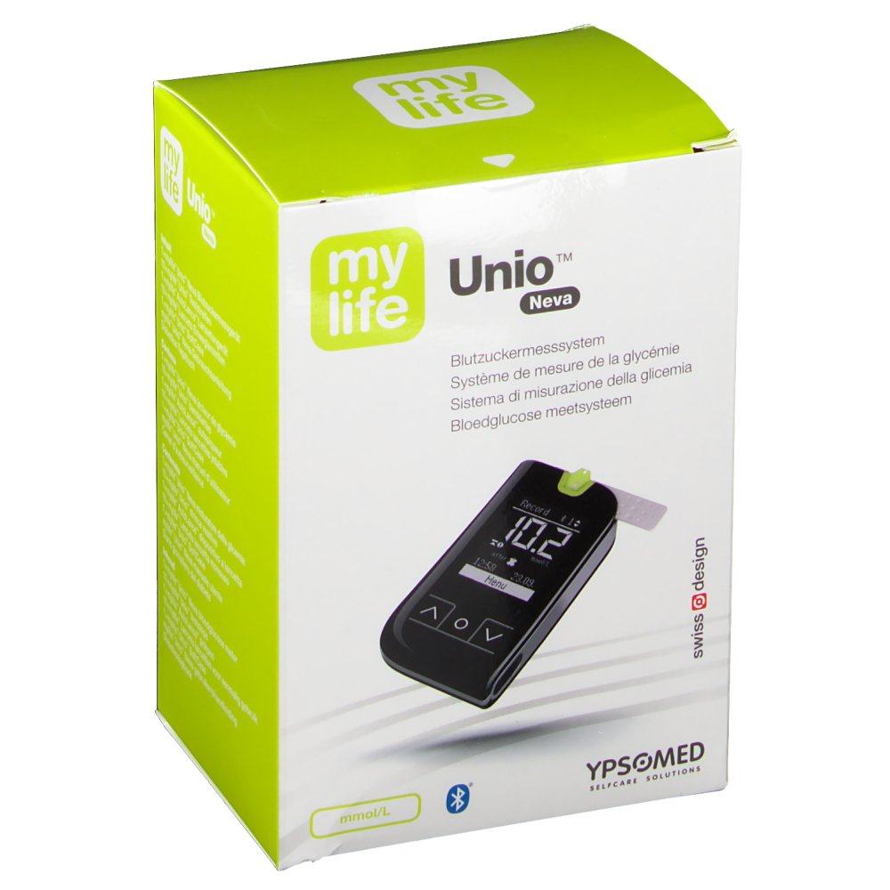 mylife Unio™ Neva Blutzuckermesssystem mmol/l