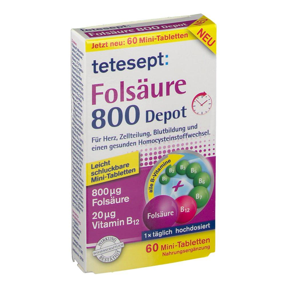 teetesept® Folsäure 800 Depot