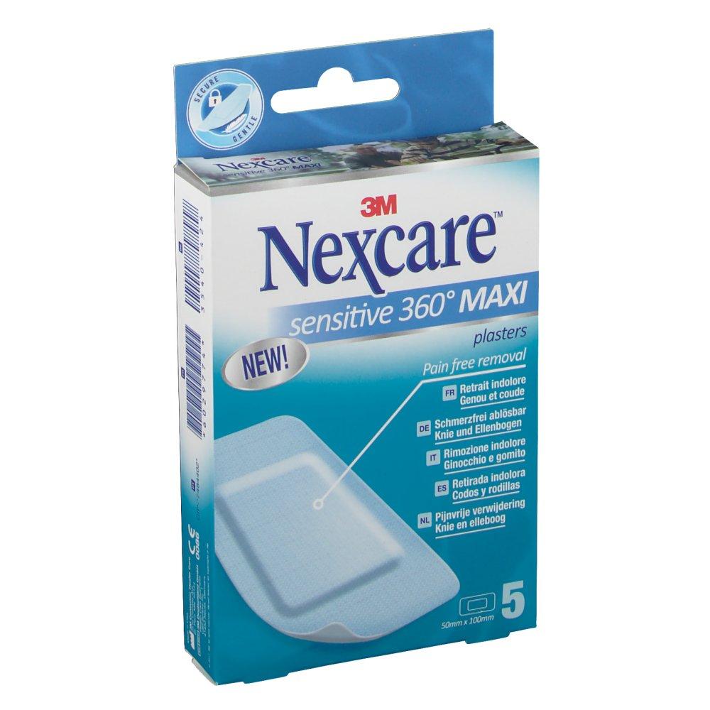 3M Nexcare Sensitive 360° Maxi Pflaster 5 x 10 cm