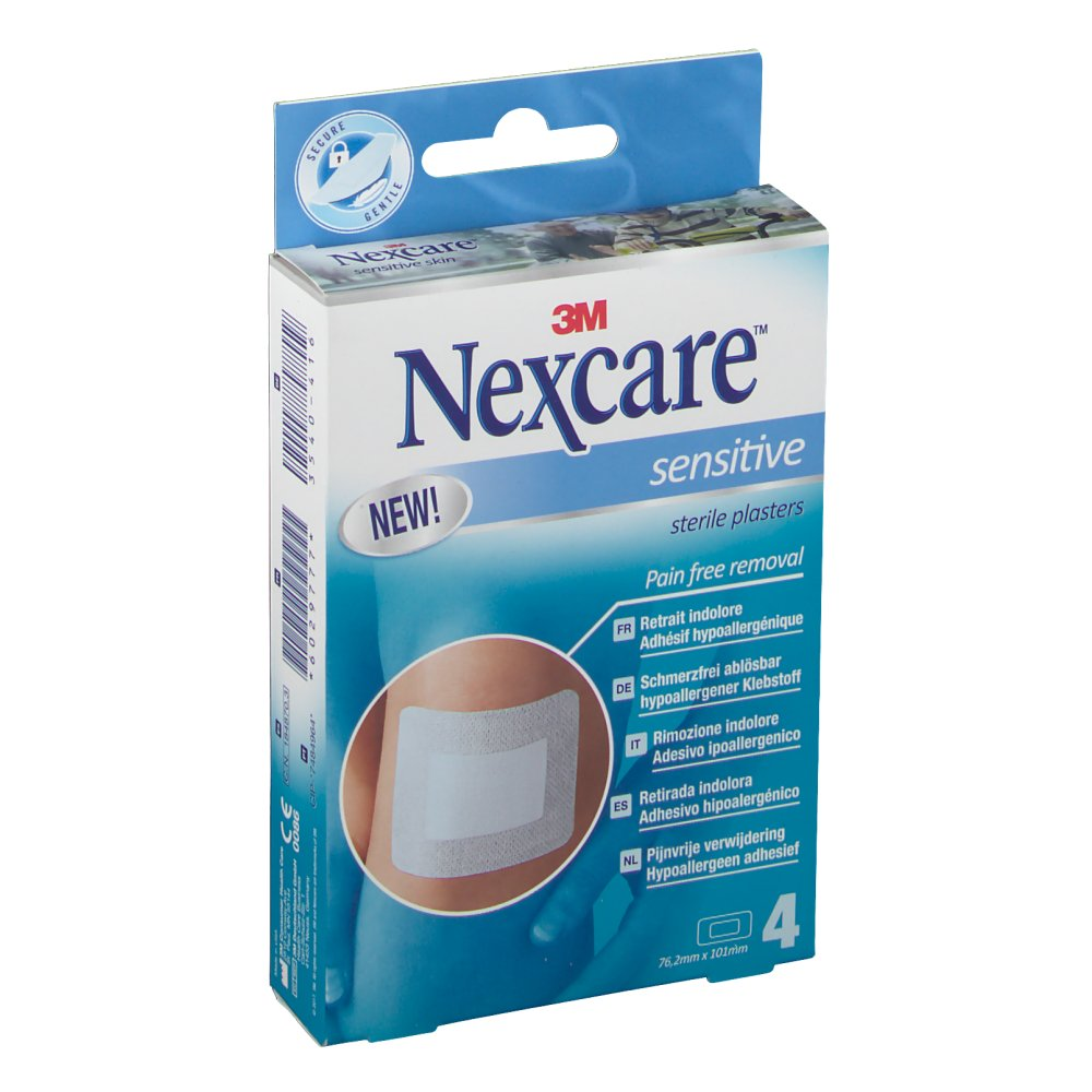 3M Nexcare Sensitive sterile Pflaster 76,2 x 101 mm