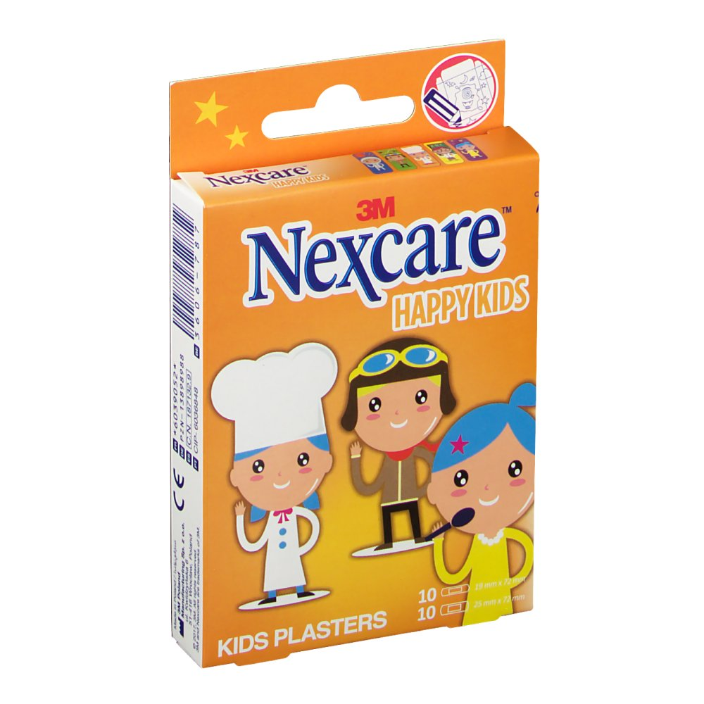 3M Nexcare Happy Kids Berufe