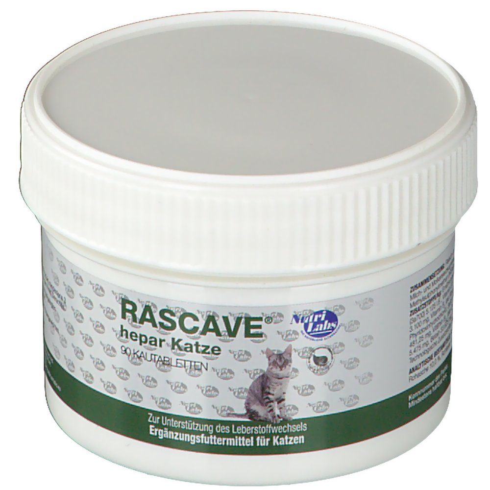 NutriLabs Rascave® Hepar Kautabletten für Katzen