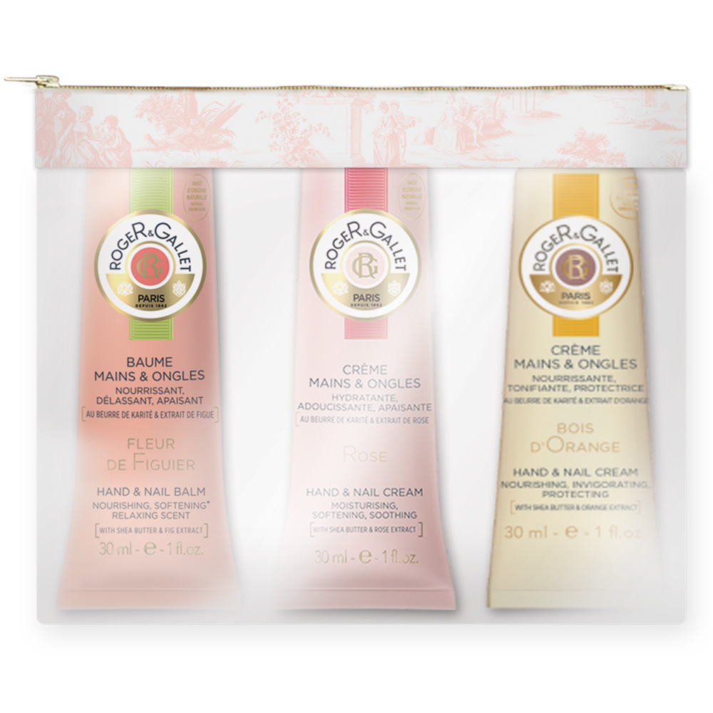 Roger & Gallet Rose Boi Handcreme-Set