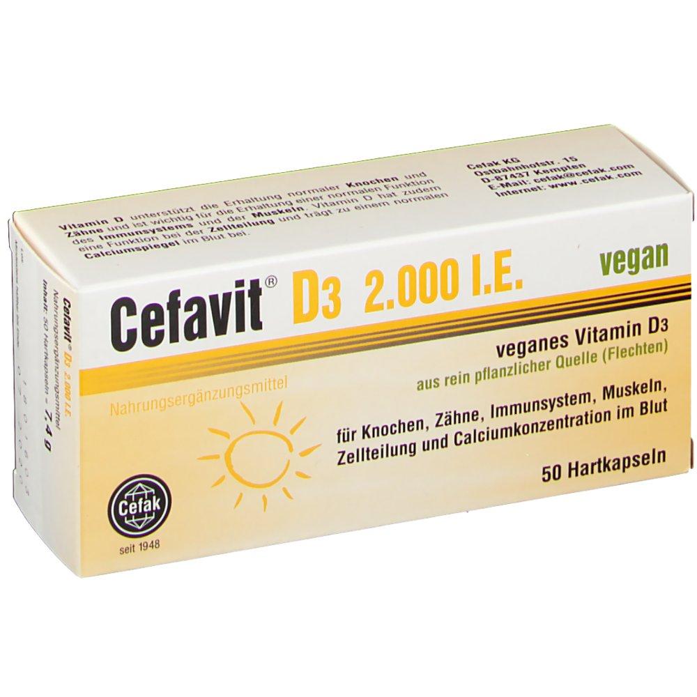 Cefavit® D3 2.000 I.e. vegan