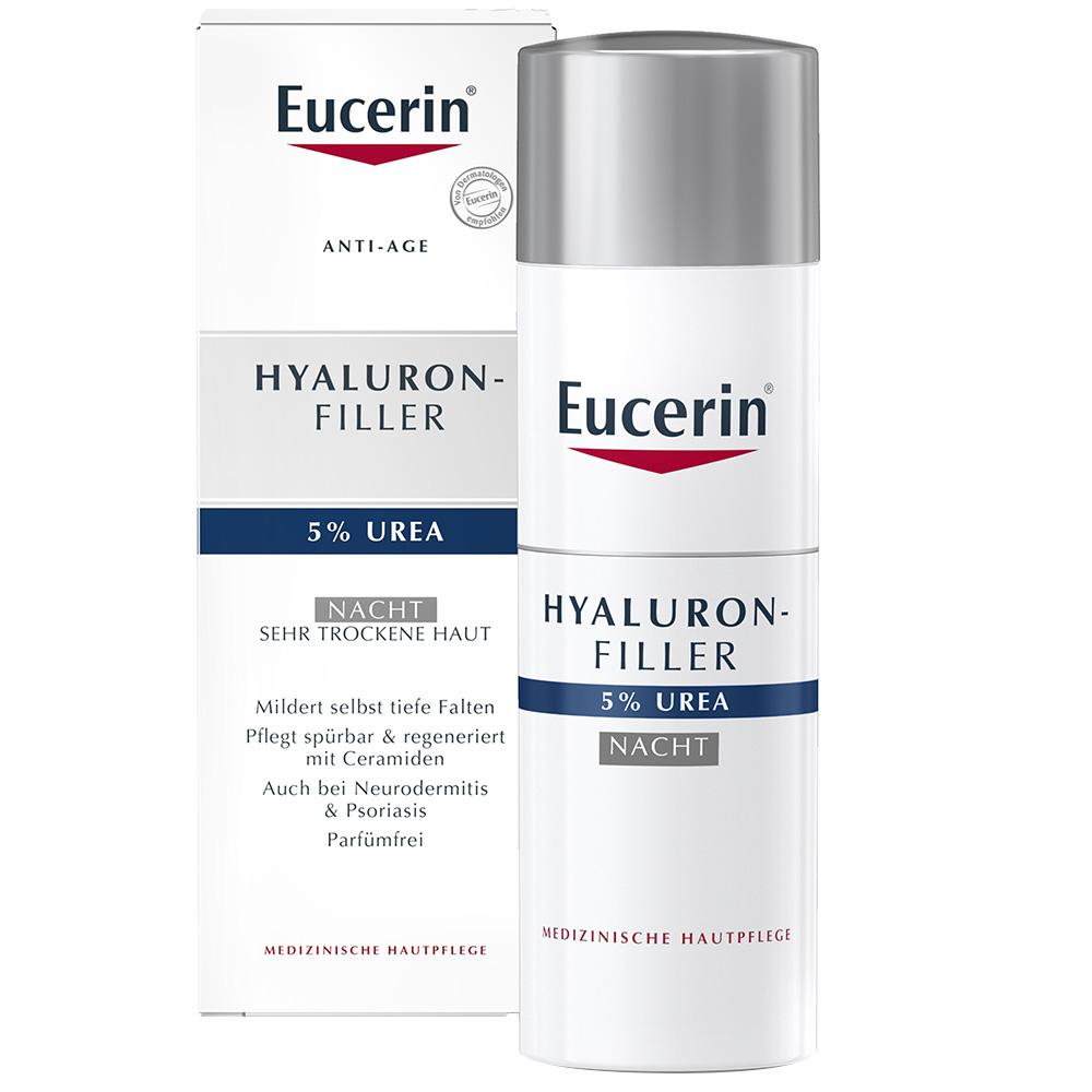 Eucerin® Face Hyaluron-Filler Urea 5% Nachtpflege