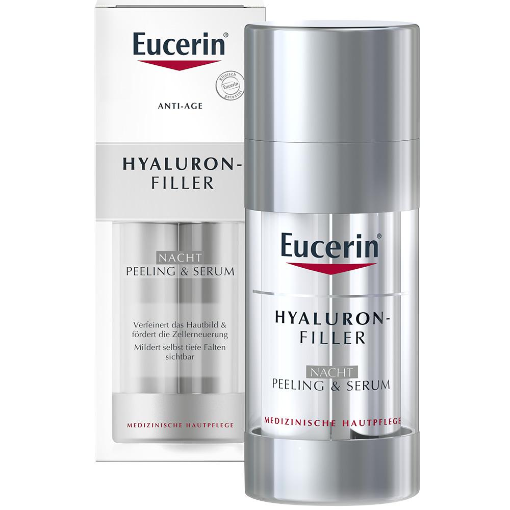 eucerin u00ae hyaluron-filler nacht-peeling   7-tage eucerin u00ae serum-kur gratis