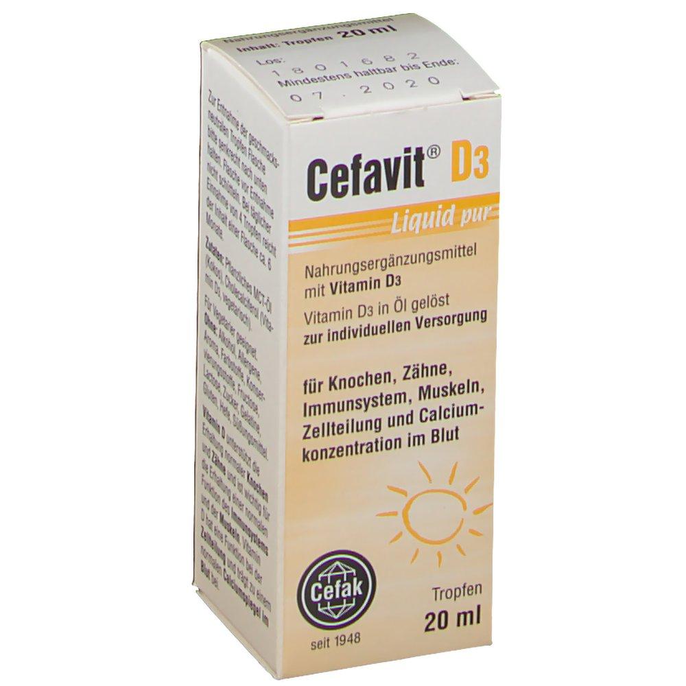 Cefavit® D3 Liquid pur