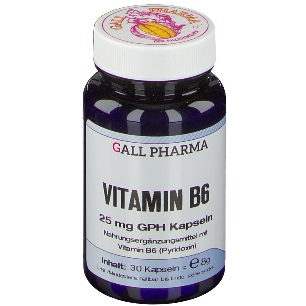 Gall Pharma Vitamin B6 25 mg GPH