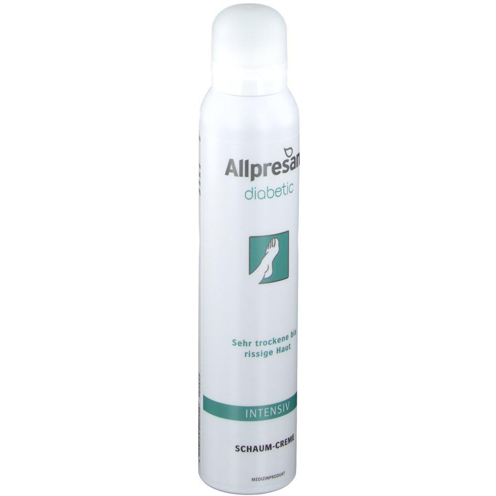 Allpresan diabetic Intensiv Schaum Creme (200ml)