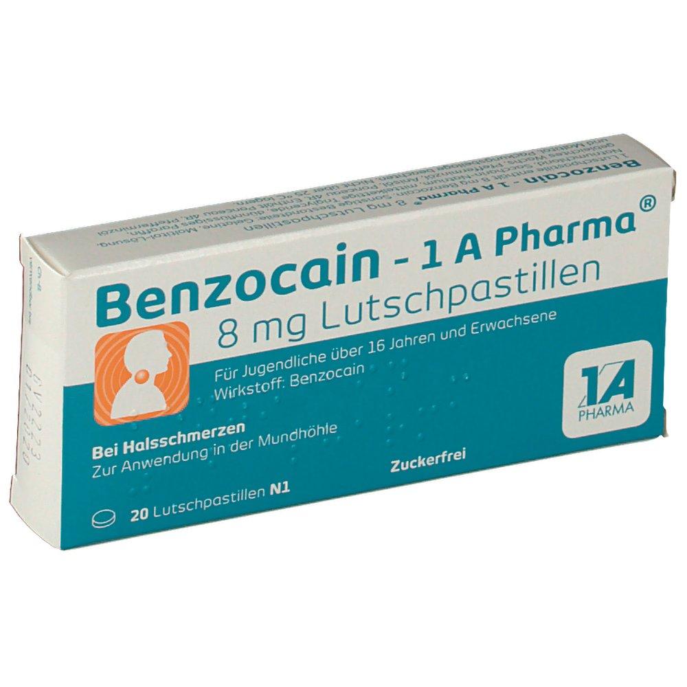 Benzocain wirkung