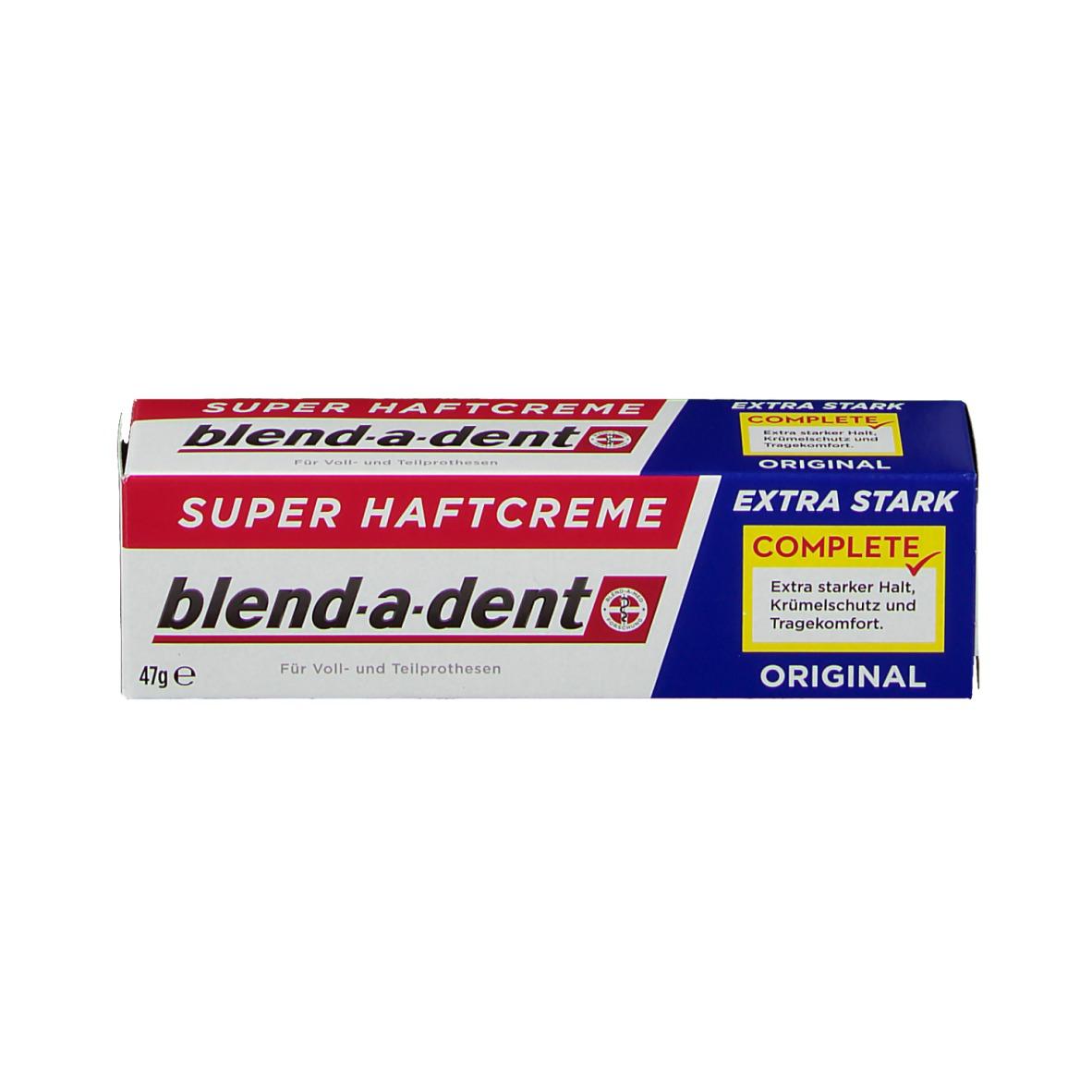 Blend A Dent Super Haftcreme Extra Stark Nebenwirkungen