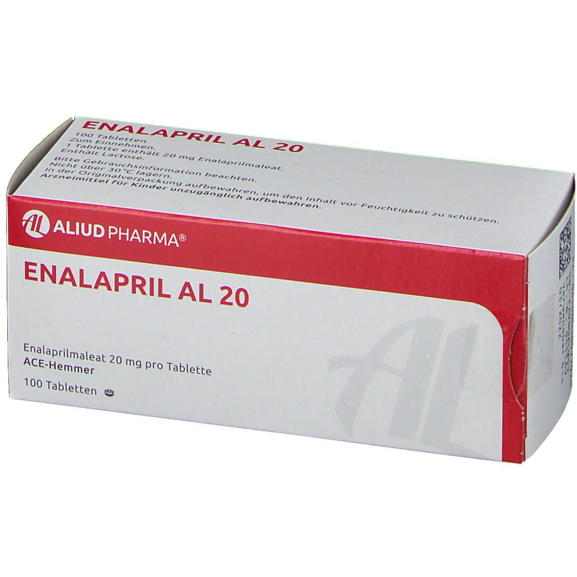Enalapril kz 20