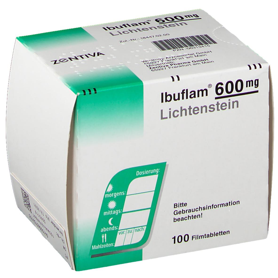 Ibuflam 600 mg wirkung