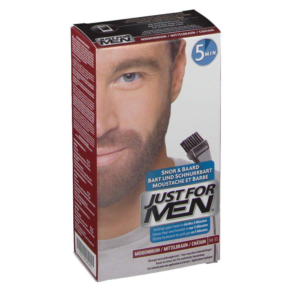 JUST FOR MEN® Pflege-Brush-In-Color-Gel mittelbraun 28,4 ml -  shop-apotheke.com