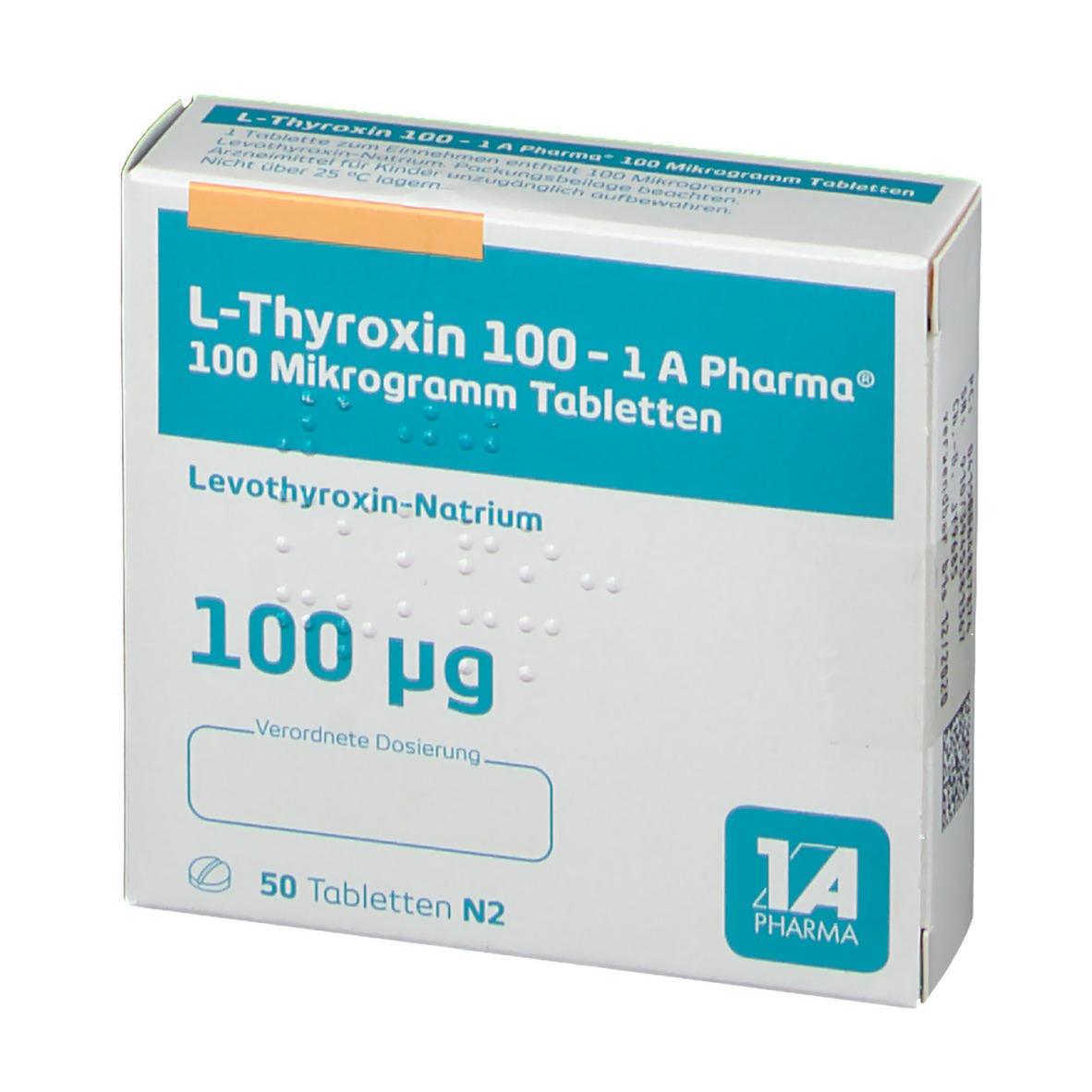 L Thyroxin 100 Abnehmen