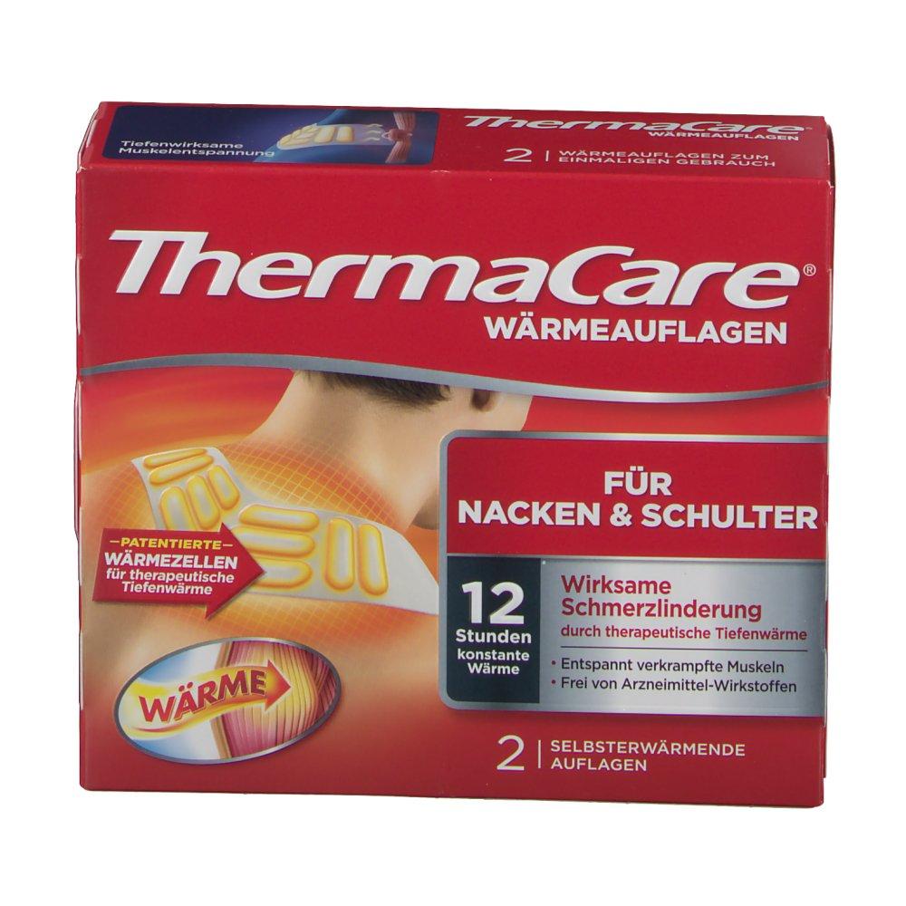 Thermacare Wärmeumschläge Nacken Schulter Und Arme 2 St Shop Apothekecom