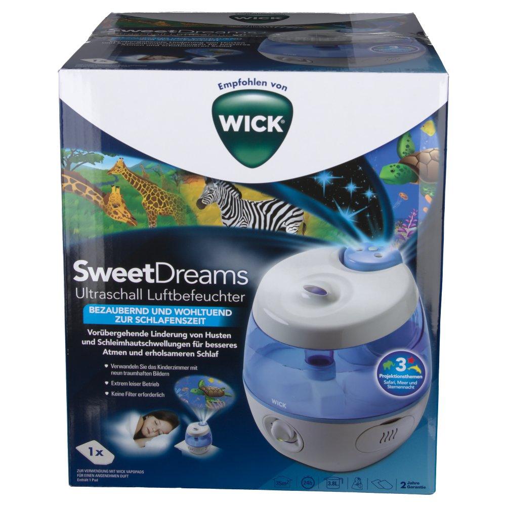 WICK SweetDreams 2-in-1 Ultraschall Luftbefeuchter 1 St - shop-apotheke.com
