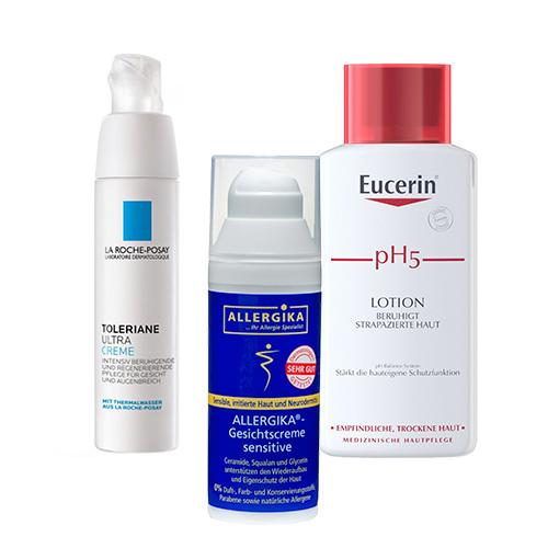 Empfindliche & allergische Haut - shop-apotheke.com