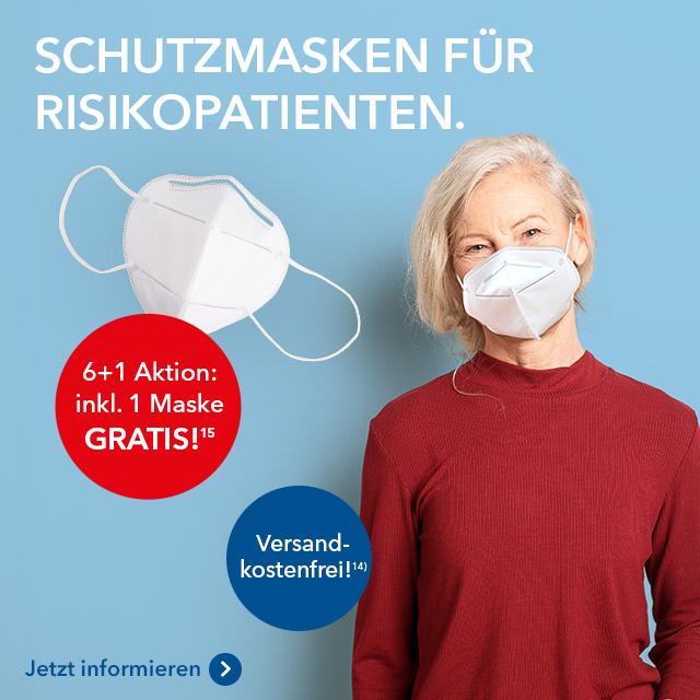 Schutzmasken für Risikopatienten bei shop-apotheke.com