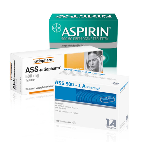 ASS & Aspirin - shop-apotheke.com