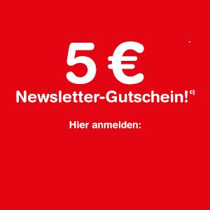 Gutscheincode zur Newsletter Anmeldung