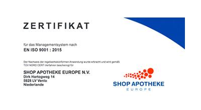 shop apotheke kontakt