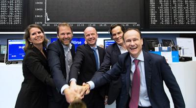 SHOP APOTHEKE EUROPE auf dem Börsen-Parkett