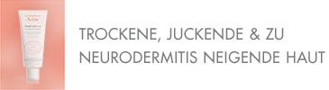 Trockene, juckende & zu Neurodermitis neigende Haut